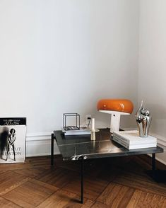 Tangerine snoopy lamp by Flos - styling by Colin King