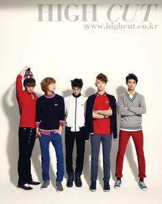 SHINee - High Cut Magazine