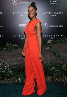 Nyc Fashion, School Fashion, Chic Outfits, Fashionable Outfits, Fashion Outfits, My Black Is Beautiful, Beautiful People, Tika Sumpter, After Earth
