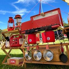 Camping Furniture, Camping Style, Camping Tools, American Gods, Toolbox, Outdoor, Tool Box, Outdoors, Outdoor Games