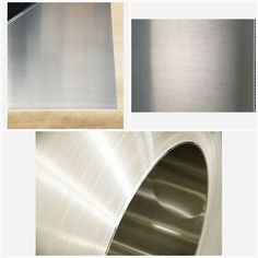 "Alloy 5052 Aluminum Sheet Brushed #4 .040/"" x 24/"" x 48/"" w// PVC"