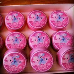 Chocolate Covered Oreos made to match any theme ! Price is for 1 dozen My Little Pony Oreos.