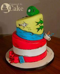 ~ My Seuss cake~ Http://Coveredincake.com