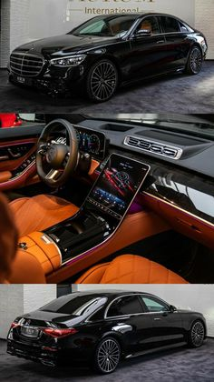 Mercedes Benz Maybach, Mercedes Benz Cars, Mercedez Benz, Top Luxury Cars, Benz S Class, Super Sport Cars, Cars And Motorcycles, Classic Mercedes, Black Colors