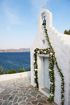 Wedding Chapel In Greece
