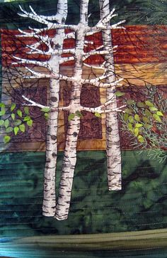Barbara Strobel Lardon Art quilts