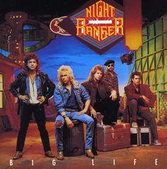 Night Ranger - Big Life: buy LP, Album at Discogs Used Vinyl Records, Lp Vinyl, Rock & Pop, Rock And Roll, Lp Cover, Cover Art, Hard Rock, 80s Album Covers, Night Ranger