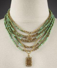 Adelaide Necklace - as $198.95..♥....#EvolvingFashion #JewelryLayering #NecklaceLayering http://evolvingfashion-hair-nails-clothing.blogspot.com/