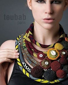 So, you want a statement piece of adornment, something that is vibrant, full of life, has charisma and shouts out to be looked at and admired? Look no further than the work of Parisan designer Maude Villaret and her brand Toubab Paris. Make no mistake this is not work everyone can wear, you have to own it and shrinking violets need not apply. Inspired by her travels to Mali, Villaret has created a unique style that is both ethnic and ethical by working with indigenous women to purchase their…