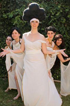The Muses: Calliope, Clio, Melpomene, Terpsichore and Thalia from Hercules.