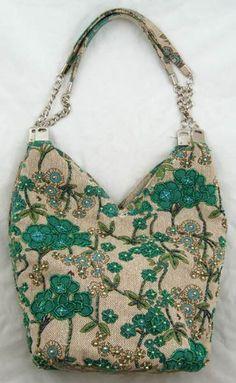 Handbag Tote Hand Shoulder Bag Purse Wallet Green « Clothing Impulse