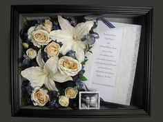 Dried Roses in Shadow Box   ... Shadow Boxes. Our Ready-Made shadow boxes will protect your flowers
