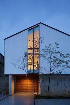 61 Trendy Ideas Design Home Plans Exterior Colors Minimalist Architecture, Japanese Architecture, Architecture Design, Facade Design, Exterior Design, Exterior Colors, Exterior Paint, Minimal House Design, Japanese Style House
