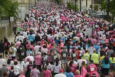San Antonio putting breast cancer behind them! #2016RacefortheCure #PowerofPink