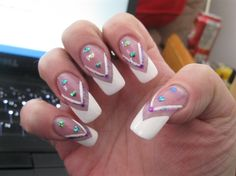 french by candledee from Nail Art Gallery
