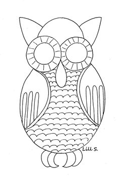 Owl freebie print out!  It's an owl.  Nuff said.