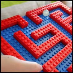 Lego Marble Run Game