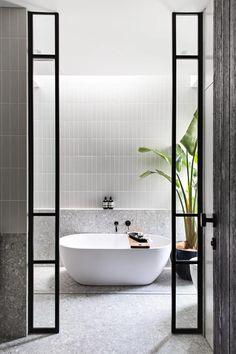 Gallery - TileCloud Bathroom Renos, Laundry In Bathroom, Small Bathroom, Remodled Bathrooms, Colorful Bathroom, Master Bathroom, Bathroom Ideas, Wc Decoration, Bathroom Design Inspiration