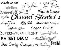 Dafont : download fonts