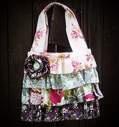 Cute Ruffled Bag