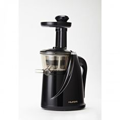 Get a fresh start in 2015 with the Hurom Slow Juicer Model HU-100B New Black with Cookbook, available at the Food Network Store.