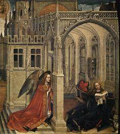 The Annunciation, 1430 - Robert Campin