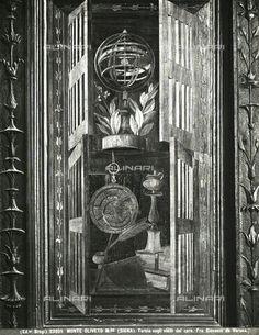 Tarsie del Coro  di Monte Oliveto Maggiore.  1503-1505. In parte portati nel Duomo di Siena