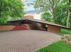 You Could Live In A Frank Lloyd Wright-Designed Home