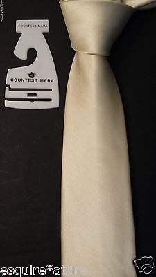 men ties on sale (dress tie, silk tie, bow tie, sets, cufflinks) : Countess Mara men #silk tie (white , pearl shade) NWT CountessMara withing our EBAY store at  http://stores.ebay.com/esquirestore