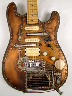 The Quick electric guitar body front Picture