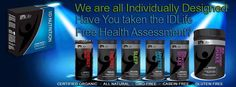 Add All Natural Customized Nutritional Supplements.  www.deborazahn.IDLife.com  For a healthier YOU!