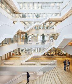 15 Impressive Atriums (And Their Sections), © Tim Van de Velde