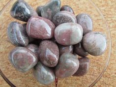 Rhodonite (Extra Quality): Known for their capacity to bring emotional healing and to release blocked energy from within the heart chakra.
