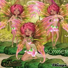 Summer Fairies by EndlessImpressions