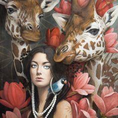 Magic Realism, Painting Furniture, Face Art, Decoupage, Artwork, Cartoon, Illustration, Artist, Diy