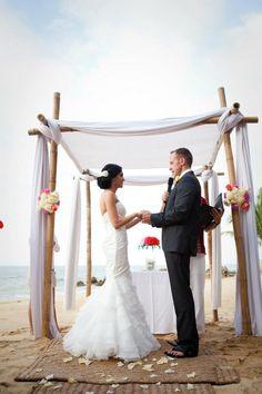 My fav arbor for a  Beach Wedding