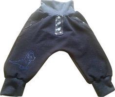 Coole Jungen Baby Hose Gr. 62/68 Dino von MiniDreams auf DaWanda.com