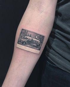 'Into the wild' inspired tattoo on the right inner forearm. Tattoo Artist: Eva krbdk