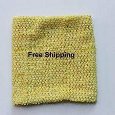Lemon crochet tutu top $7  ships free  12 inch lined tutu by BnBLLC
