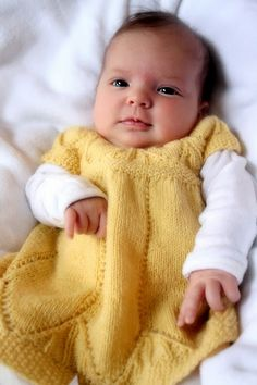 Oh Emm Gee. French Press Knits' baby in The Clara Dress (yeah, the one from the Soak ads)