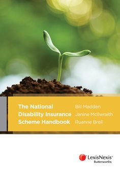 The National Disability Insurance Scheme Handbook. This book examines the NDIS from the viewpoint of a person seeking to access the NDIS and those advising or assisting them. Available at Campbelltown campus library. #disability #NDIS