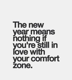 See ya lata comfort zone #newyear