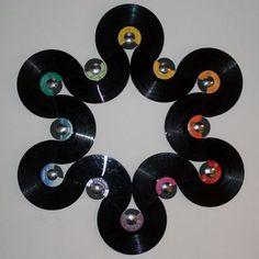 Record album art: