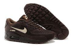 Men's Nike Air Max 90 A  Plastic Shoes Brown Beige|only US$89.00