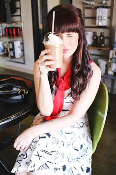 Sister Style: Peanut Butter Coffee - just had one of these today: peanut butter mocha and it was heaven through a straw.