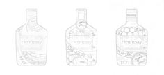 Hennessy V.S. Flask Sleeve on Packaging of the World - Creative Package Design Gallery