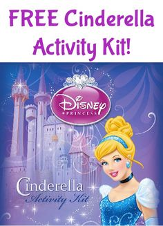 FREE Printable Cinderella Activity Kit! {fun activities for your little princess!} #cinderella