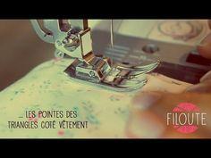 Machine à coudre - Faire un ourlet invisible - YouTube