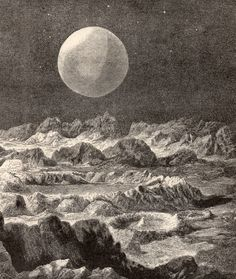 View Of Earth From The Moon, c.1894