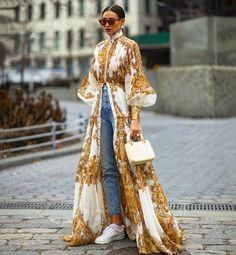 New York Fashion Week Herbst 2019 Teilnehmerbilder – Suzy's Fashion Look Fashion, High Fashion, Womens Fashion, Fashion Design, Fashion Trends, Dubai Fashion, Fashion Styles, Fashion Boots, Sneakers Fashion